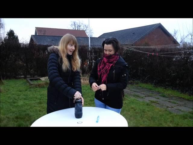 Forsøg: Sodastream, kondom og mentos