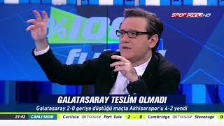 % 100 Futbol Galatasaray - TM Akhisarspor 9 Aralık 2017