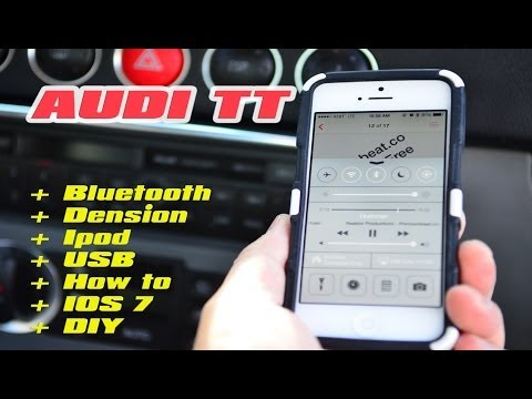 Audi TT Ipod Bluetooth Dension GBL3AU2 with AUX ANDROID SAMSUNG NOTE 2 AND IPHONE IPOD