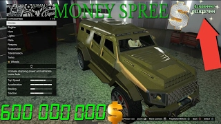 GTA 5 ONLINE - $600.000.000 SPENDING SPREE PART 6 BUYING EVERYTHING IN GTA 5 ONLINE NEW DLC ( GTA V)
