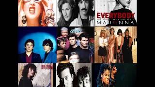 Pop/Rock Anos 80 Internacionais e Nacionais em Versões Extended e Remix By Jairo DJ Parte 1