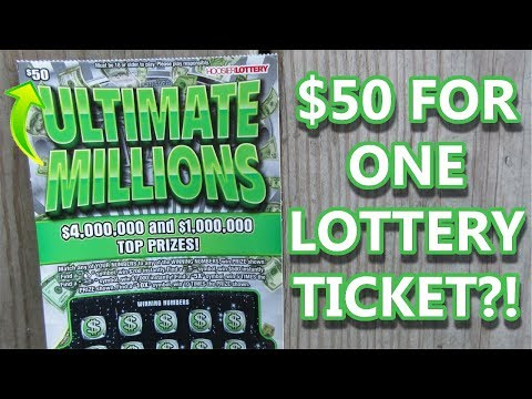 Spending $50 For ONE Lottery Ticket Scratch Off...Was It Worth It?!