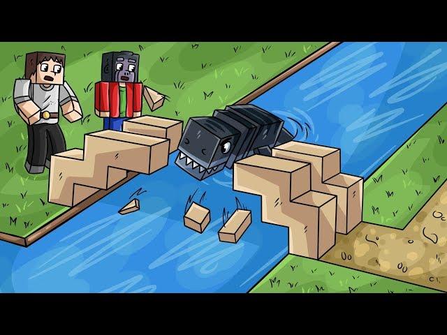 Mosasaurus se ZBLÁZNIL! 🤪 (Minecraft Dinosauři #15)