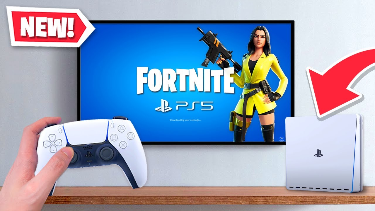 New Fortnite On Next Gen Ps5 Xbox Series X Youtube