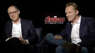 James Spader and Paul Bettany on Marvel's Avengers: Age of Ultron