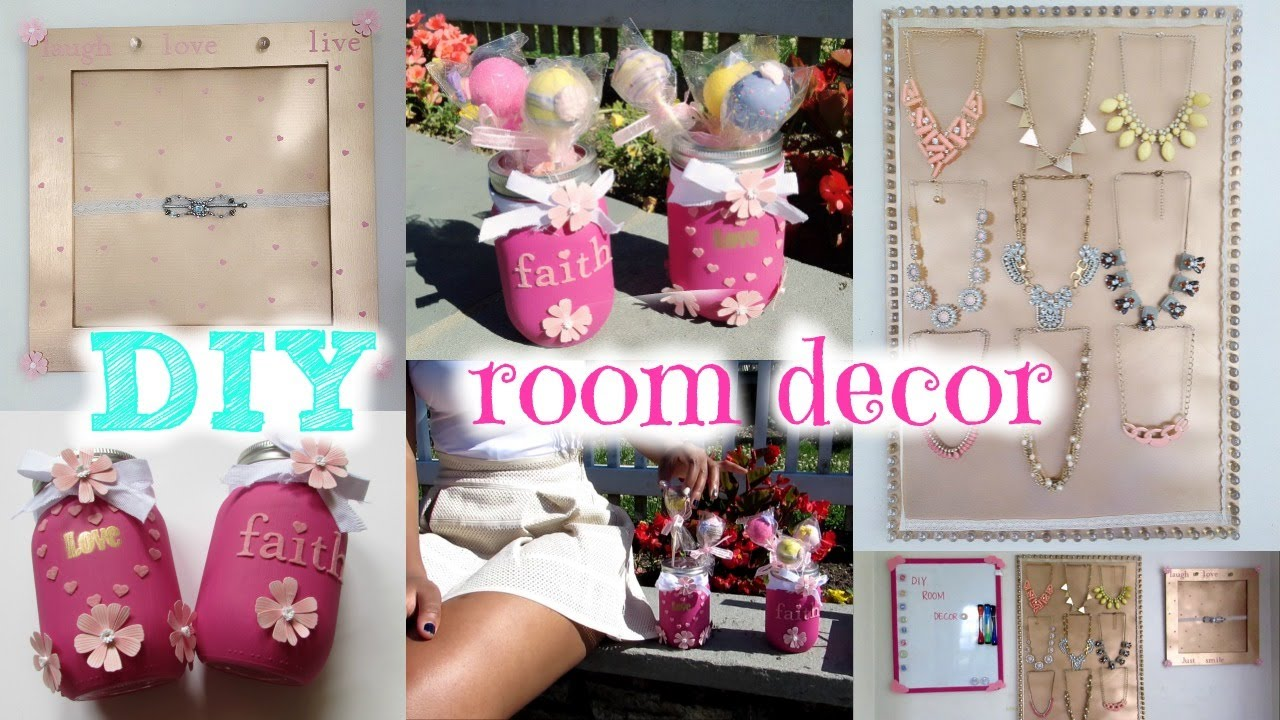 Diy room decor tutorials for teens - Diy Room Decor For Summer Cute Cheap Amp Easy Tips How To Stay Organized Youtube