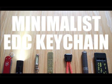 Minimal Everyday Carry Keychain | EDC Gear 2018