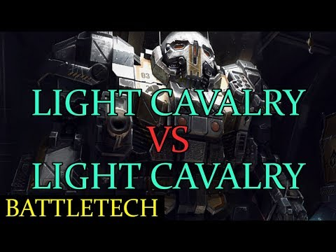 Battletech (Beta) - Light Cavalry vs Light Cavalry