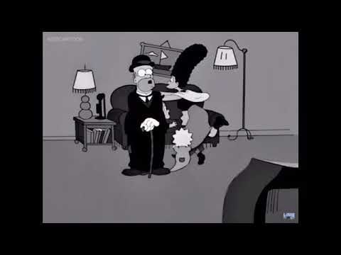 Charlie Chaplin references in the Simpsons