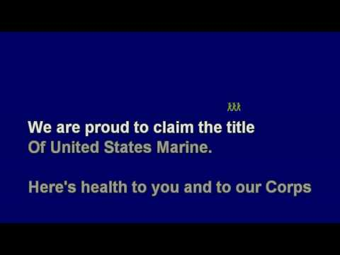*Marines' Hymn - No Melody