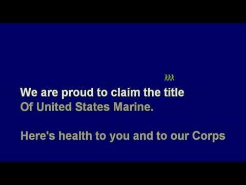 *Marines' Hymn - No Melody