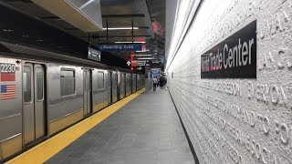 New York, New York - Cortlandt Street Subway Station Reopens (2018)