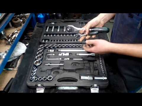 Честный обзор набора инструмента FORCE 41082 108 предметов от автослесаря