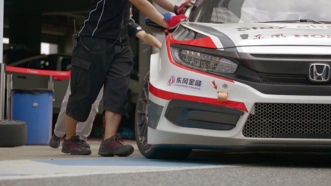 World First 2016 Honda Civic CTCC Factory Race Car   Tested By CTCC  Champion Martin Xie   YouTube