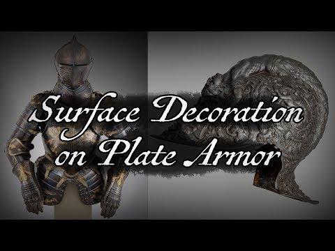 Armor Surface Decoration: An Introduction