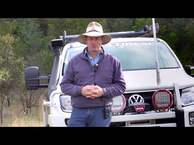 Uniden - Pat Callinan Reviews the Uniden 5 Watt Waterproof UH850 2-Way Radio