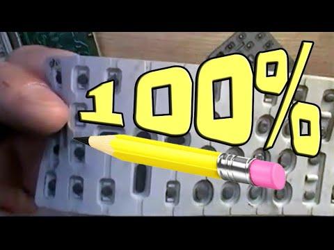 Ремонт пульта с помощью карандаша и клея ▶️