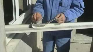 Монтаж металлопластиковых окон (часть 1)