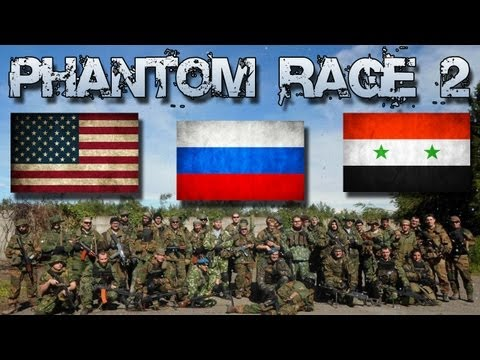"PHANTOM RAGE 2 | Giorno 1 Pt. 2/3 | Federazione Russa, SQ. ""Oca Blu"" PKM cam"