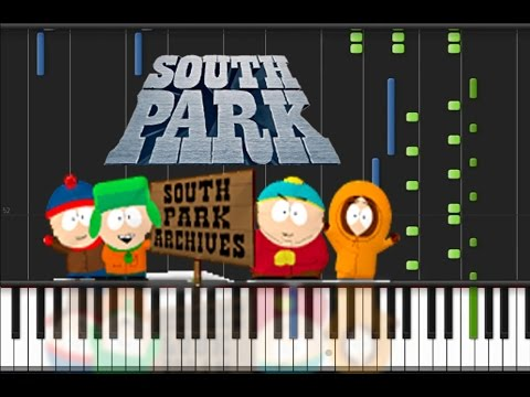 South Park  Main Theme Piano Tutorial ♫