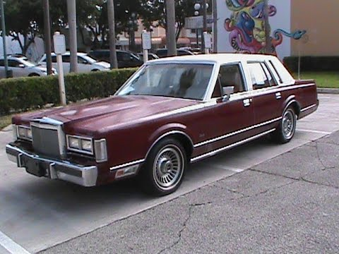 1988 Lincoln Town Car 4dr Sedan For Sale In South Florida Youtube