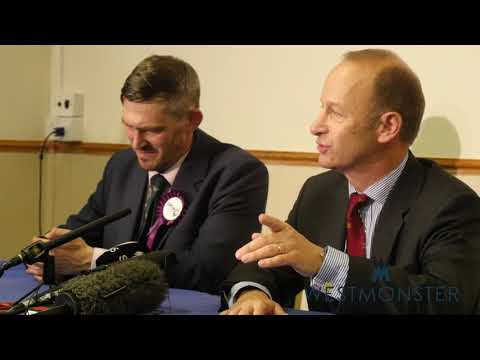 New UKIP Leader Henry Bolton's first press conference in the top job