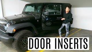Jeep Wrangler Door Handle Inserts   Easy Install & Review