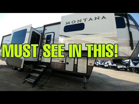 This Montana Fifth Wheel RV Will Blow You Away! 3741FK