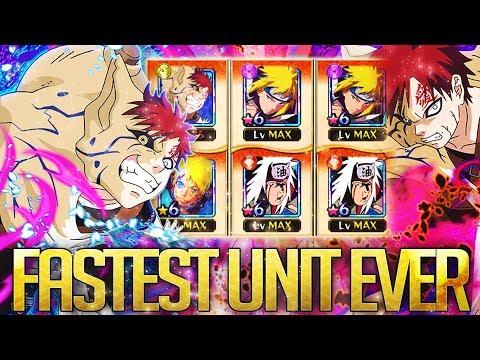 ** GAARA FASTEST UNIT IN THE GAME CRAZY * | ** Naruto Ultimate Ninja Blazing *