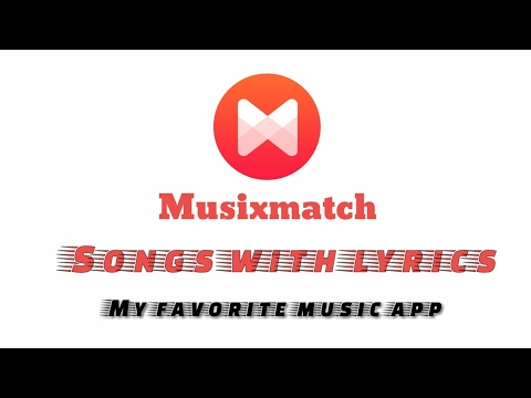 [Hindi] Musixmatch app | Songs with lyrics | My favorite app