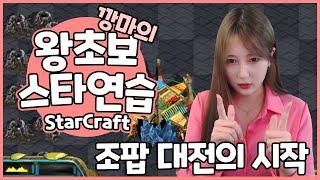 스타크래프트 조팝대전 연습한다!!