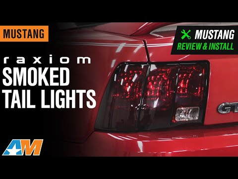 1999-2004 Mustang Raxiom Smoked Tail Lights Review & Install