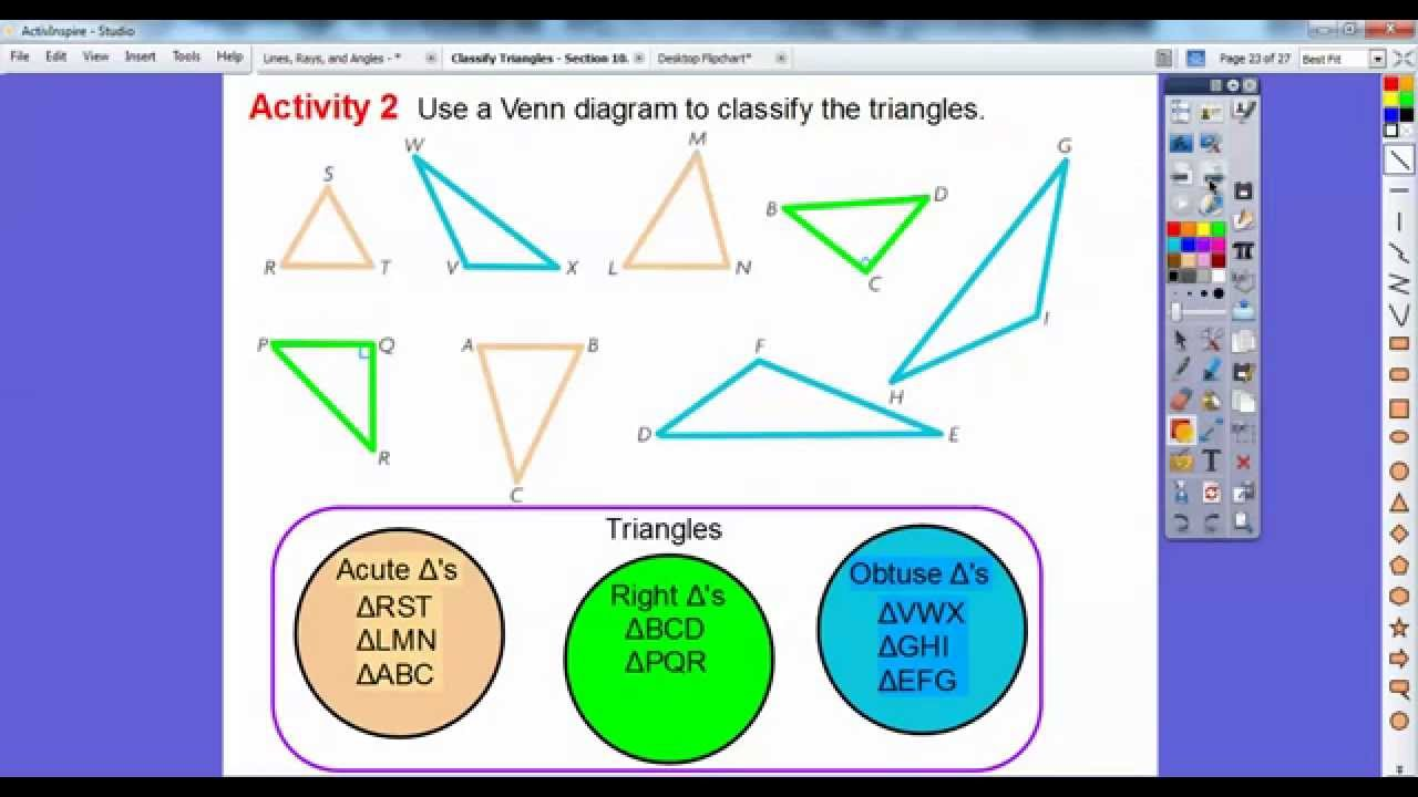 Classify triangles lesson 102 youtube classify triangles lesson 102 pooptronica Gallery