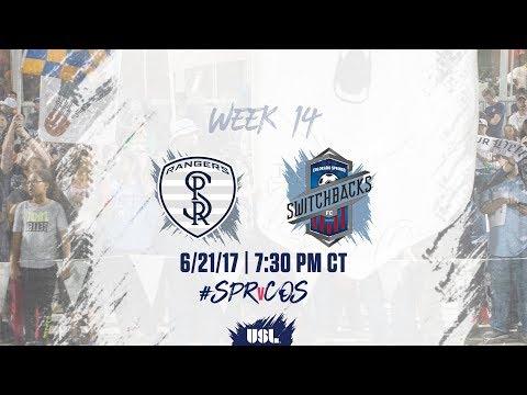 USL LIVE - Swope Park Rangers vs Colorado Springs Switchbacks FC 6/21/17