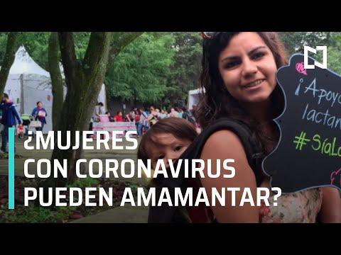 ¿Mujeres con coronavirus pueden amamantar a sus hijos? - Las Noticias