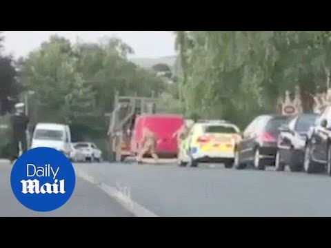 Military personnel remove van connected with Amesbury couple poisoning - Daily Mail