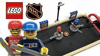 Rare LEGO Sports NHL Street Hockey review! 2004 set 3679!