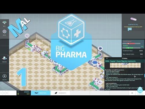 NO PAIN NO GAIN! Big Pharma - Let's Try Part 1 [Beta Gameplay]