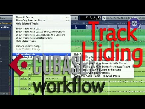 Cubase Focus:Workflow Visibility and Mix