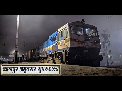 KANPUR to AMRITSAR : A Complete Train Journey in Kanpur-Amritsar Express (Indian Railways)