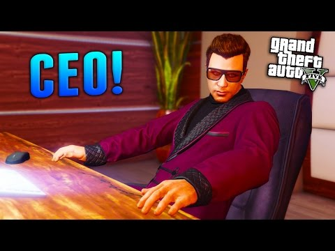 GTA Online: How to Become a CEO! (GTA 5 Finance and Felony DLC)