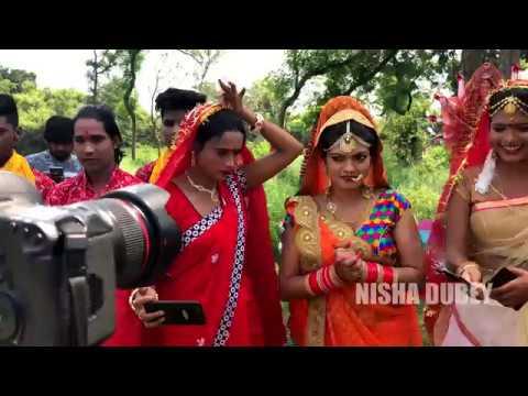Download Niisha Dubey | Making of Devi Song - Jhula Jhuleli Bhawani Maiya | 2018 Part 1