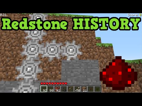 Minecraft - History of Redstone For PC, Console & PE