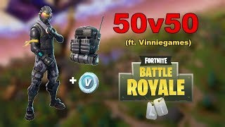 Starter pack bought?! -Fortnite #2 (with Vincent)