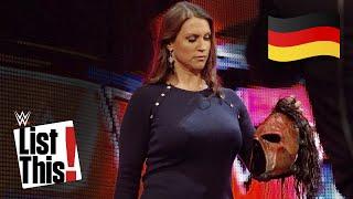 6 Mal, als Kane seine Maske verlor - WWE List This (DEUTSCH)