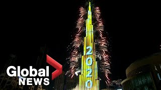 New Year's 2020: Dubai puts on stunning fireworks show at world's tallest building
