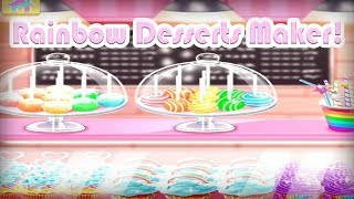 Rainbow Desserts Maker! - Shake It Walkthrough