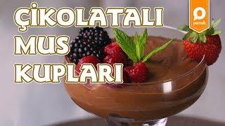 Çikolatalı Mus Kupları -  Onedio Yemek - Tatlı Tarifleri