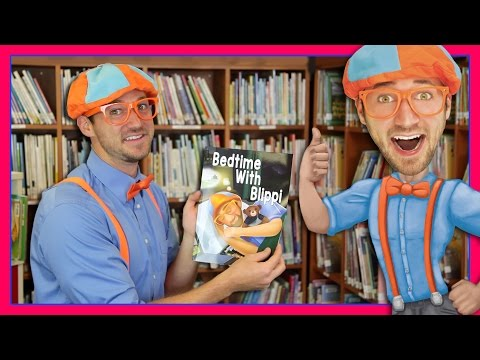 Thumbnail: Bedtime With Blippi | Bedtime Stories for Children