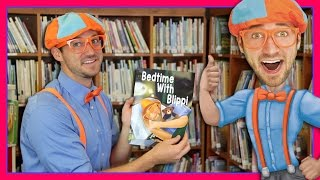 Bedtime With Blippi | Bedtime Stories for Children